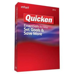 Intuit Quicken Mac Essentials 2010 Retail Box