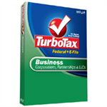 Intuit Turbotax Business 2008 Federal + E-FILE Retail Box