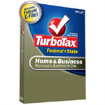 Intuit TurboTax Home & Business 2008 Retail Box