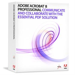 Adobe Acrobat 8 Professional for MAC Retail Box