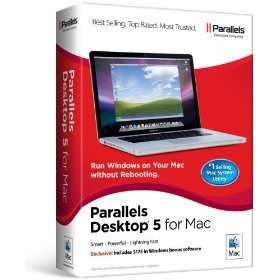 Parallels Desktop 5.0 Mac Retail Box