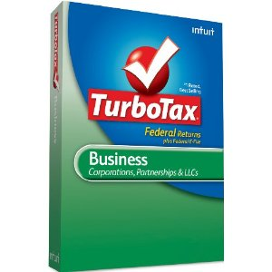 Intuit TurboTax Business 2010 Retail Box