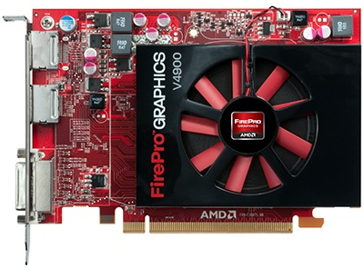 AMD ATI FirePro V4900 1 GB DDR5 DVI/2DisplayPort PCI-Express 2.1 x16 Video Card