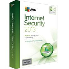 AVG Internet Security 2013 (1 YR, 1PC) Retail Box