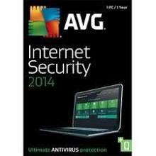AVG Internet Security 2014 (1 YR, 1 User) Download