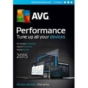 AVG Performance 2015 Unlimited Devices - 1YR (PC/Mac) Retail Box