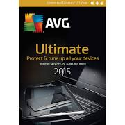 AVG Ultimate 2015 Unlimited Devices - 1YR (PC/Mac) Retail Box