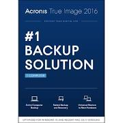 Acronis True Image 2016 1 Computer (PC/Mac) Retail Box