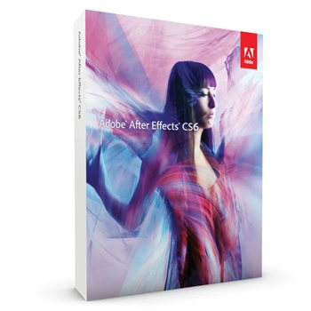 Adobe After Effects CS6 (Mac) Retail Box