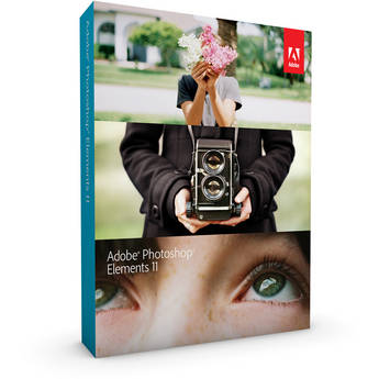 Adobe Photoshop Elements 11 (PC/Mac) Retail Box