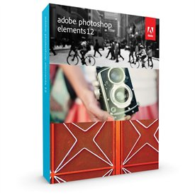 Adobe Photoshop Elements 12 Retail Box