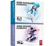 Adobe Photoshop Elements 8.0 & Premiere Elements 8.0 Retail Box