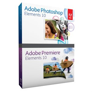 Adobe Photoshop & Premiere Elements 10 Retail Box