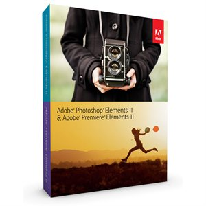 Adobe Photoshop & Premiere Elements 11 Retail Box