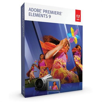 Adobe Premiere Elements 9 PC/Mac Retail Box