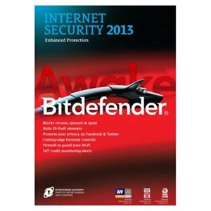 BitDefender Internet Security 2013 (1 Year, 3 User) CD & License Key