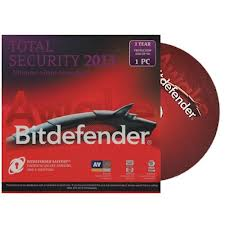 BitDefender Total Security 2013 (1 Year, 1 User) CD & License Key