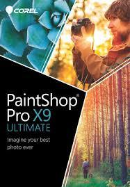 Corel PaintShop Pro X9 Ultimate Retail Box