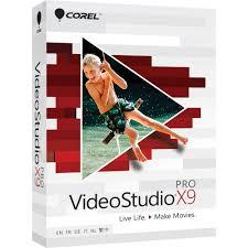 Corel VideoStudio Pro X9 Retail Box