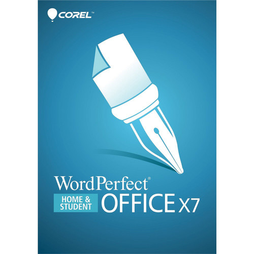 Corel WordPerfect Office X7 Home & Student Retail Box
