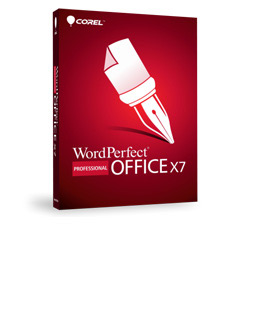 Corel WordPerfect Office X7 Professional Retail Box - ON SALE
