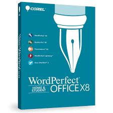 Corel WordPerfect Office X8 Home & Student Retail Box