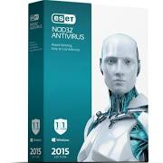 ESET NOD32 Antivirus 2015 (1 User) Retail Box