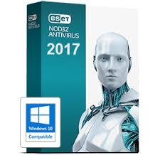 Eset Nod32 Antivirus 2017 V10 1Yr 1-User Retail Box