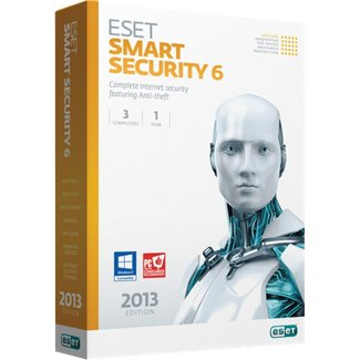 Eset Smart Security 6 (3 User) Retail Box