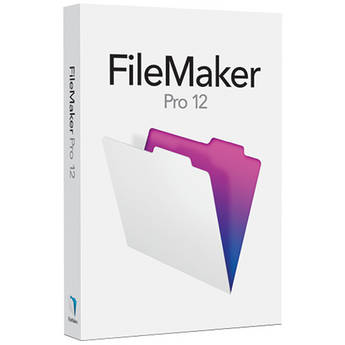 FileMaker Pro 12 Retail Box