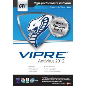 GFI Software Vipre Antivirus 2012 Retail Box (1 YR, 1PC)