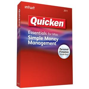 Intuit Quicken Essentials  for Mac 2012 Retail Box