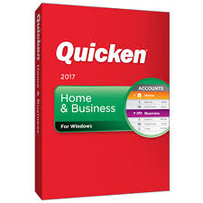 Intuit Quicken Home & Business 2017 Retail Box