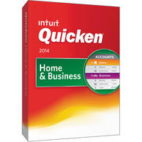 Intuit Quicken Home & Business 2014 Retail Box