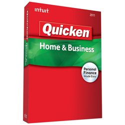 Intuit Quicken Home & Business 2011 Retail Box