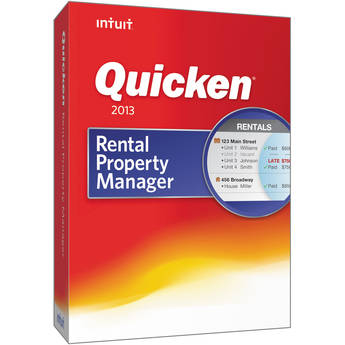 Intuit Quicken Rental Property Manager 2013 Retail Box
