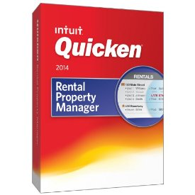 Intuit Quicken Rental Property Manager 2014 Retail Box
