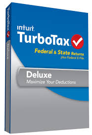 Intuit TurboTax Deluxe 2013 Federal & State w/E-file Retail Box
