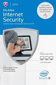 McAfee Internet Security 2015 3PC Product Key Card - ON SALE