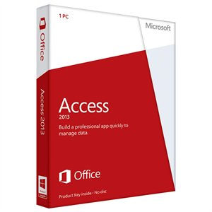Microsoft Access 2013 (1PC) Product Key Card Retail Box