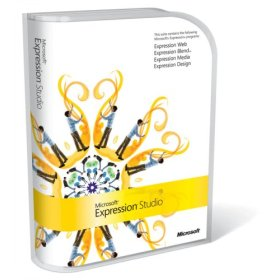 Microsoft Expression Studio 1.0 Retail Box