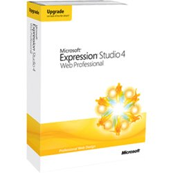 Microsoft Expression Studio 4 Upgrade Retail Box