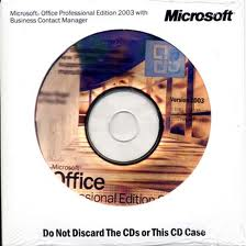 Microsoft Office 2003 Professional OEM (Includes Media) Branded