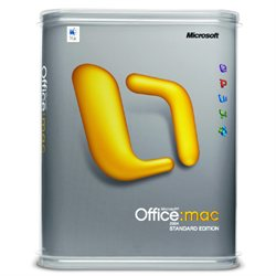 Microsoft Office 2004 for Mac Standard Edition OEM