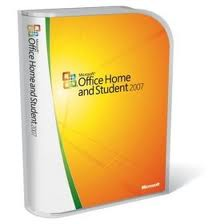 Microsoft Office 2007 Home & Student 3PC Retail CD & License Key