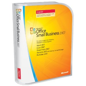 Microsoft Office 2007 Small Business Upgrade Retail Box