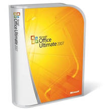 Microsoft Office 2007 Ultimate Retail Box