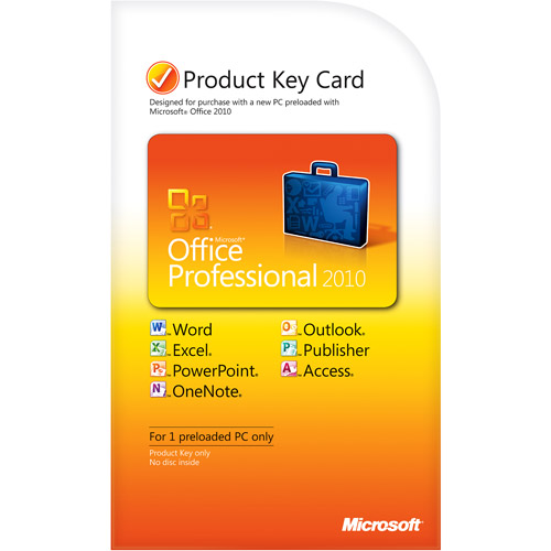 Microsoft Office 2010 Professional (Download) - ON SALE