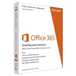Microsoft Office 365 Small Business Premium PC/MAC 1 Year PKC Retail Box - ON SALE