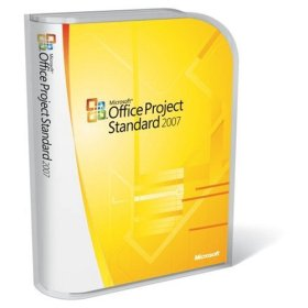 Microsoft Project 2007 Standard Retail Box